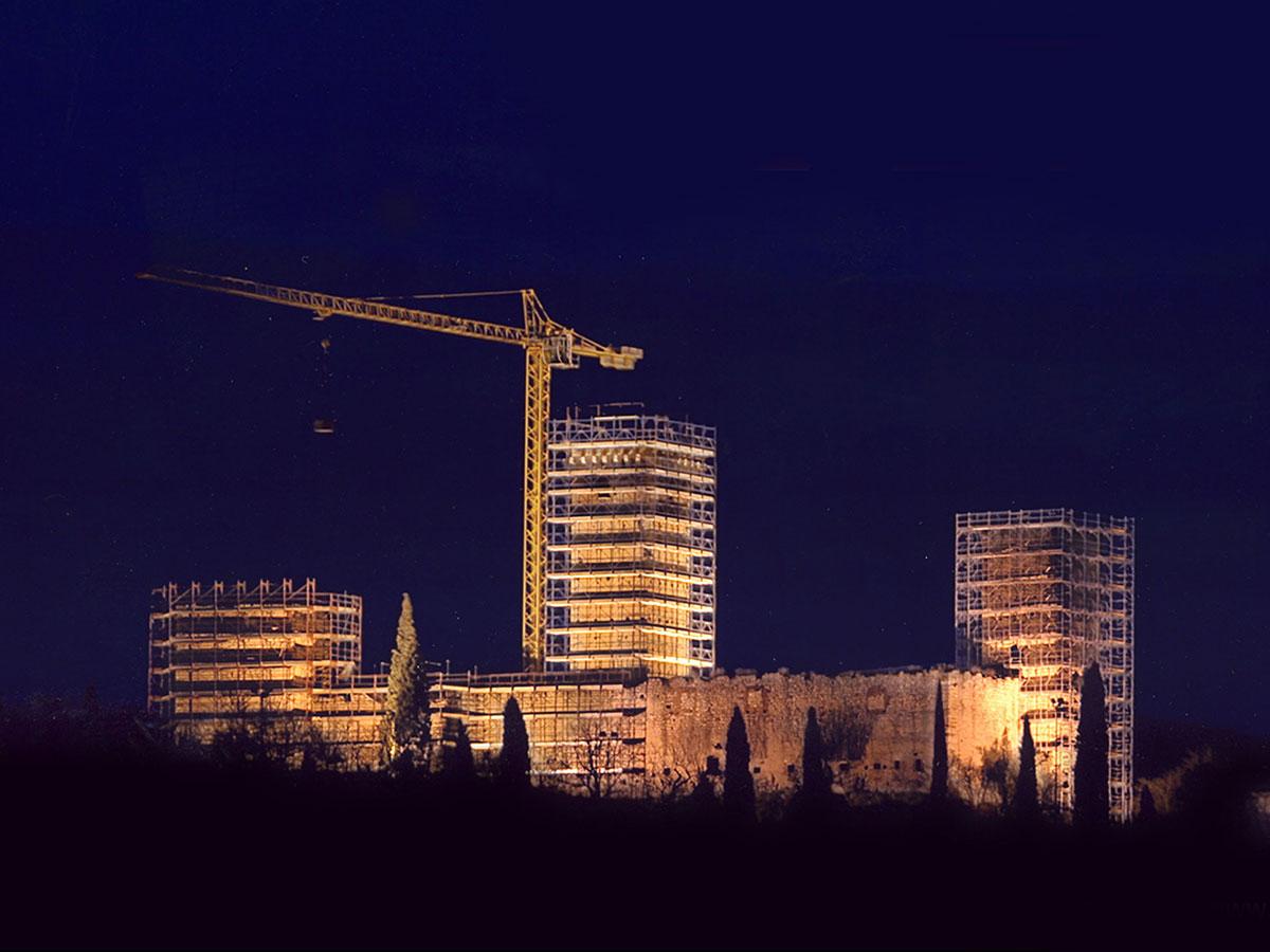 Costruzioni Tieni 1836 | Edilizia Pubblica: restauro Castello Montorio Costruzioni Tieni 1836 Srl