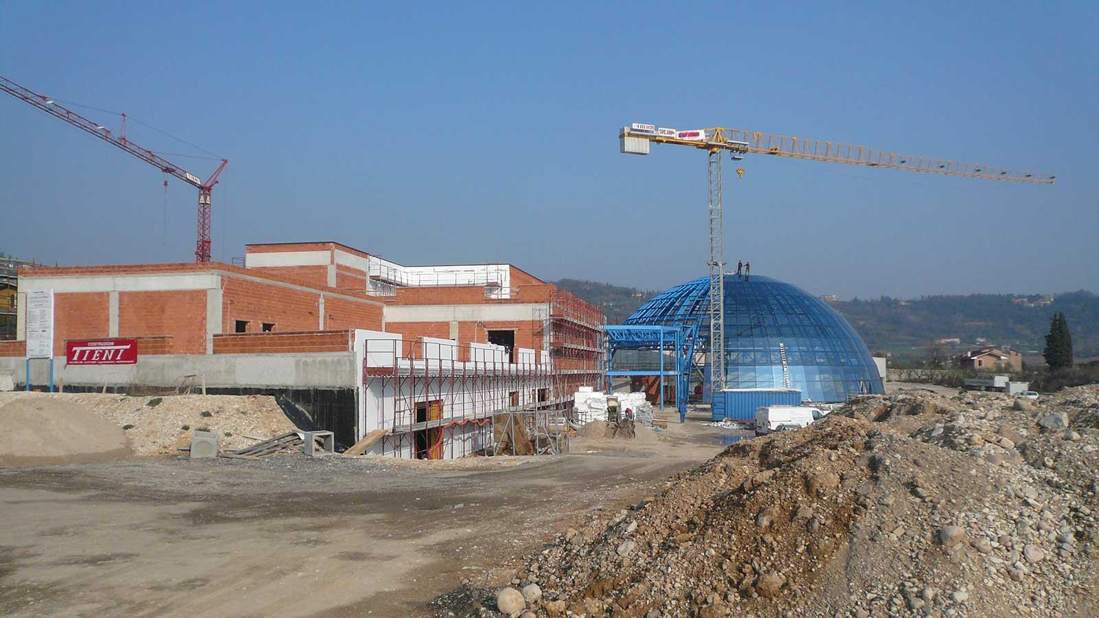 Costruzioni Tieni 1836 Srl | Lavori di realizzazione di un acquapark per il Comune di Garda