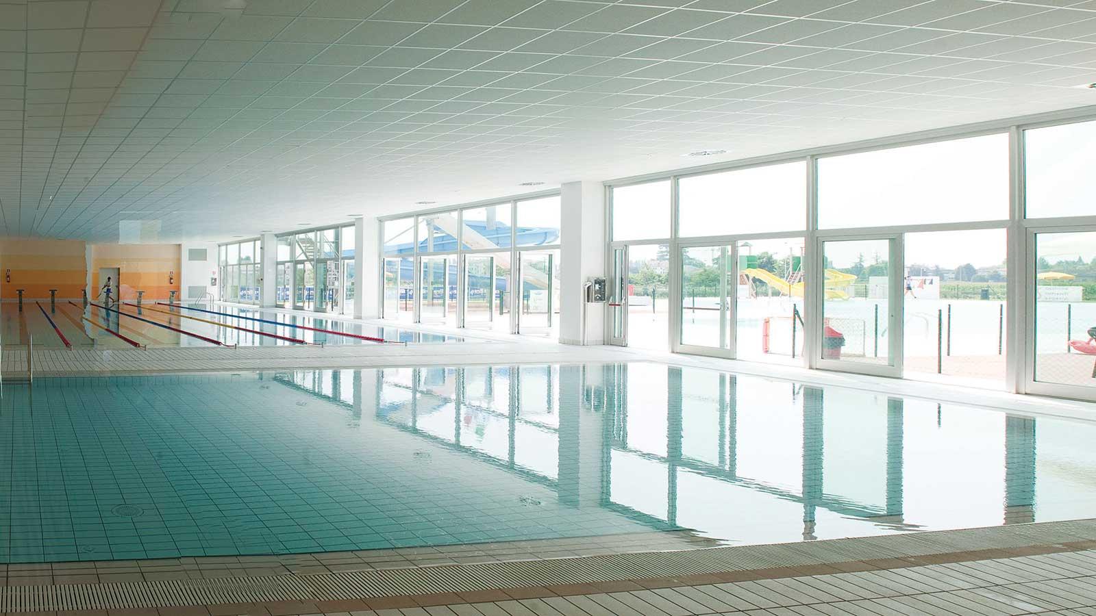 Costruzioni Tieni 1836 Srl | Lavori | Project financing per realizzazione e gestione del nuovo centro natatorio e bocciodromo a Isola della Scala (VR)