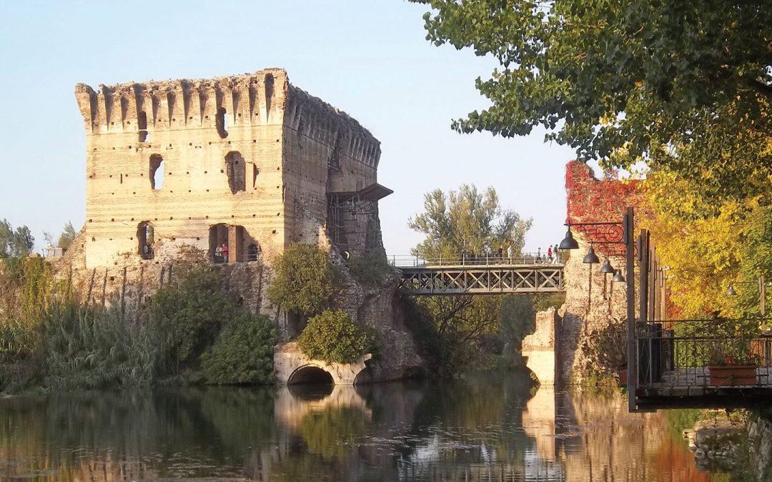 Restauro Ponte diga visconteo